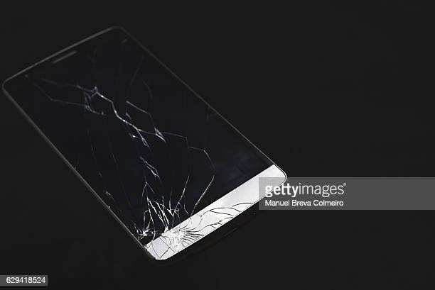 Cracked screen