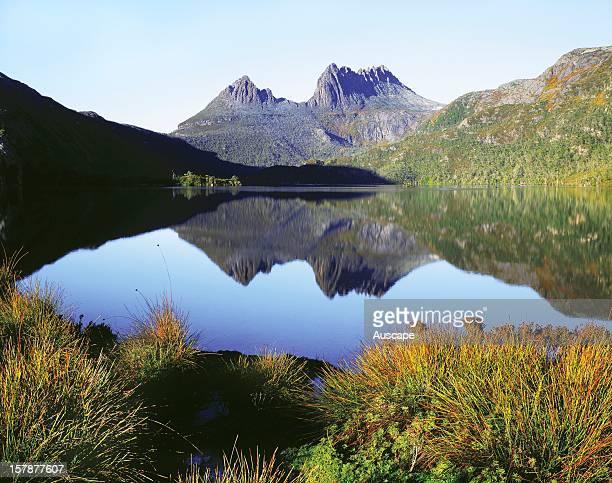 Cradle Mountain from Dove Lake Cradle MountainLake St Clair National Park Tasmania Australia