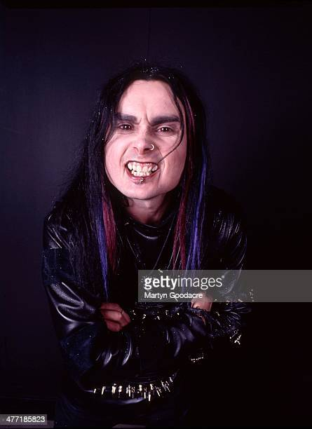 Cradle Of Filth Vocalist Dani Filth portrait London United Kingdom 2000