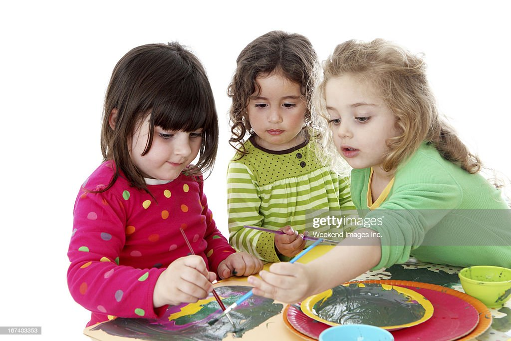 Craft activity : Stock Photo