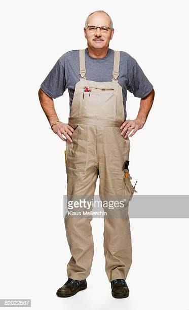 Craftsperson with hands on hip, portrait