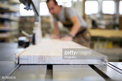 Craftsman working at Electric Saw