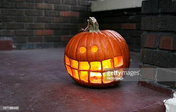 Craggy Jack-O-Lantern