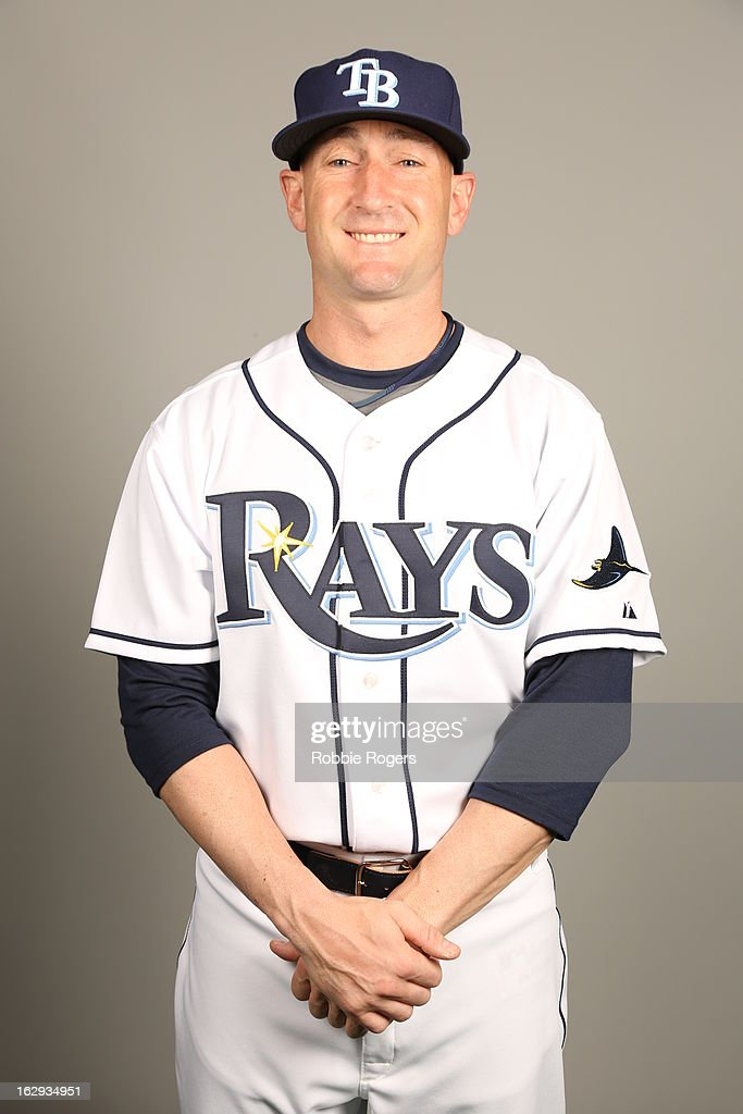 Craig Albernaz #63 of the Tampa Bay Rays poses during Photo Day on February 21, 2013 at Charlotte Sports Park in Port Charlotte, Florida.
