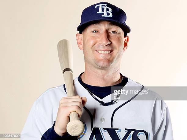 Craig Albernaz of the Tampa Bay Rays poses for a portrait during the Tampa Bay Rays Photo Day on February 22 2011 at the Charlotte Sports Complex in...