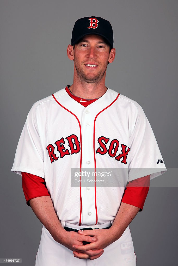 <a gi-track='captionPersonalityLinkClicked' href=/galleries/search?phrase=Craig+Breslow&family=editorial&specificpeople=836367 ng-click='$event.stopPropagation()'>Craig Breslow</a> #32 of the Boston Red Sox poses during Photo Day on Sunday, February 23, 2013 at JetBlue Park in Fort Myers, Florida.