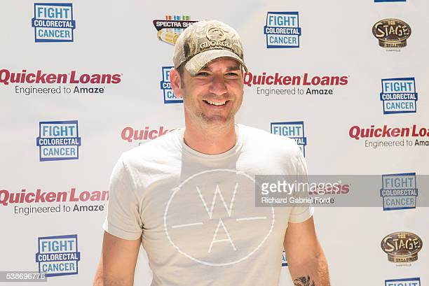 Craig Campbell attends the Craig Campbell celebrity cornhole challange on June 7 2016 in Nashville Tennessee