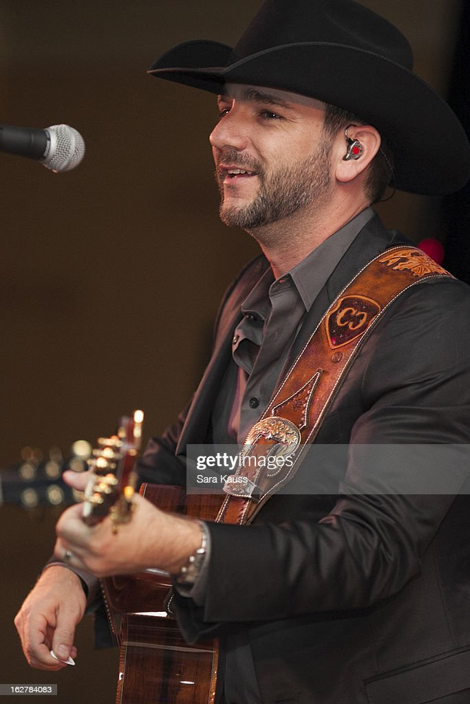 Craig Campbell performs onstage during the after party for the Country Radio Hall of Fame Dinner & Ceremony during CRS 2013 at the Renaissance Hotel on February 26, 2013 in Nashville, Tennessee.