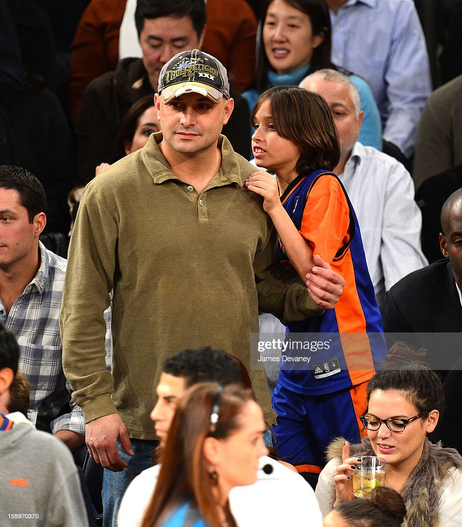 Craig Carton attends the Dallas Mavericks vs New York Knicks game at Madison Square Garden on November 9, 2012 in New York City.