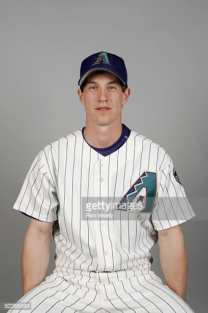Craig Counsell of the Arizona Diamondbacks poses for a portrait during photo day at Tucson Electric Park on February 25 2005 in Tucson Arizona