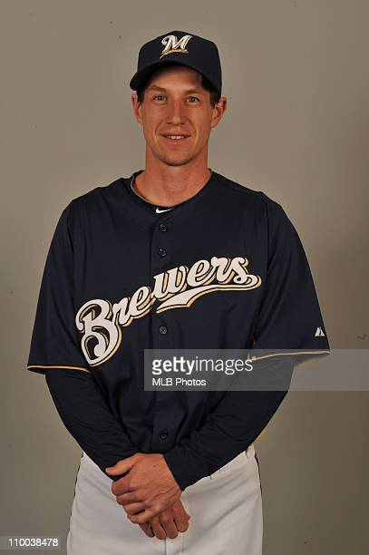 Craig Counsell of the Milwaukee Brewers poses during Photo Day on Thursday February 24 2011 at Maryvale Baseball Park in Maryvale Arizona