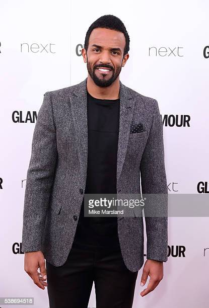Craig David arrives for the Glamour Women Of The Year Awards on June 7 2016 in London United Kingdom