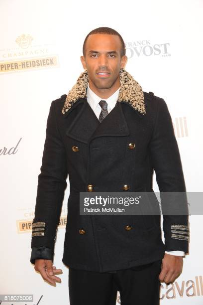 Craig David attends ROBERTO CAVALLI 40th Anniversary Event CONTACT SIPA PRESS FOR SALES at Les BeauxArts de Paris on September 29 2010 in Paris France