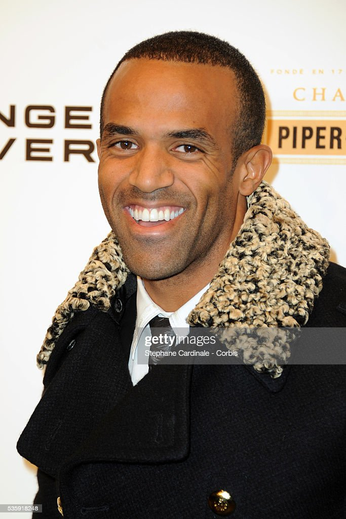 Craig David attends the Roberto Cavalli Celebrate 40 Party at 'Les Beaux-Arts' in Paris.