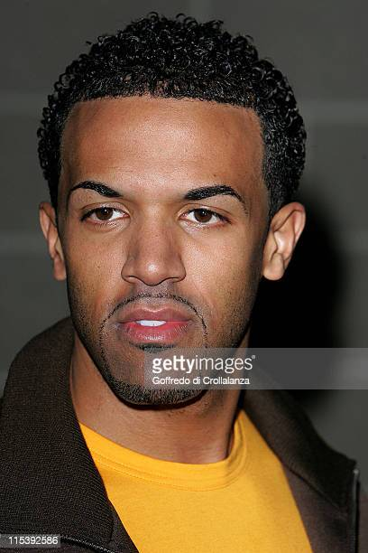 Craig David during Kiss Awards 2005 Inside Arrivals at Excel Docklands in London Great Britain