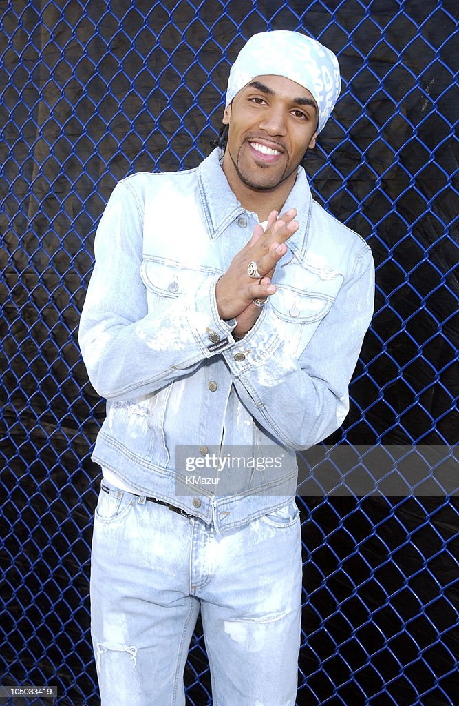 Craig David during Z100's Zootopia 2002 - Backstage with the New Jersey Nets & New York Yankees at Giants Stadium in East Rutherford, New Jersey, United States.