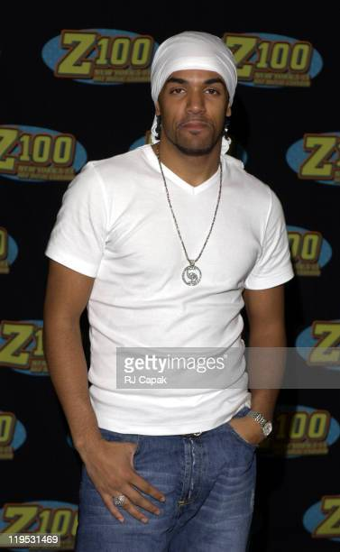 Craig David during Z100's Zootopia 2002 Press Room at Giants Stadium in East Rutherford New Jersey United States