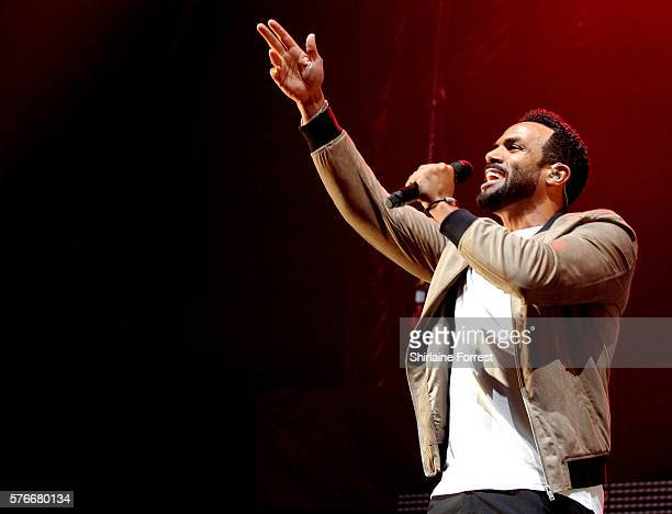 Craig David performs at Key 103 Live at Manchester Arena on July 16 2016 in Manchester England