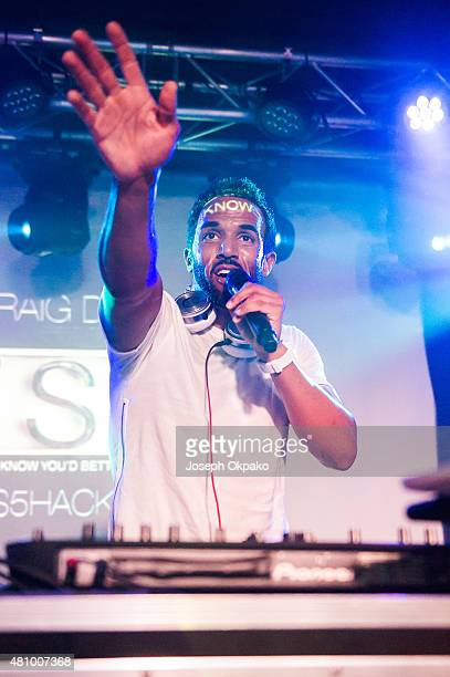 Craig David performs at Oslo on July 16 2015 in London England