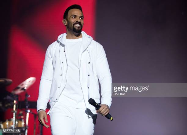 Craig David performs at the O2 Arena on March 25 2017 in London United Kingdom
