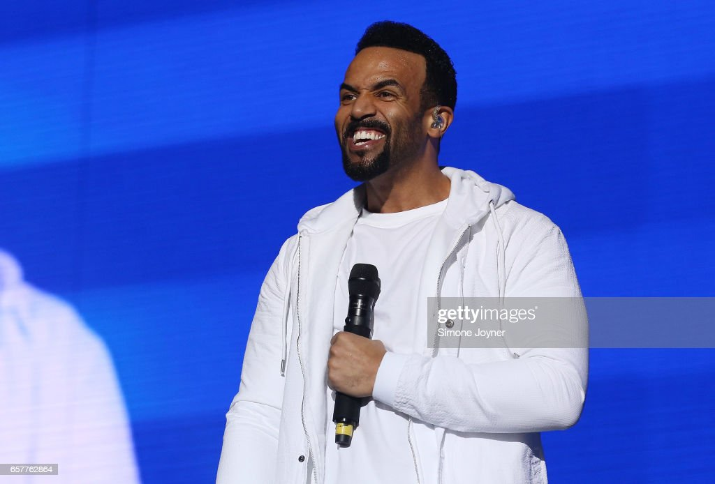 Craig David Performs At The O2 Arena In London