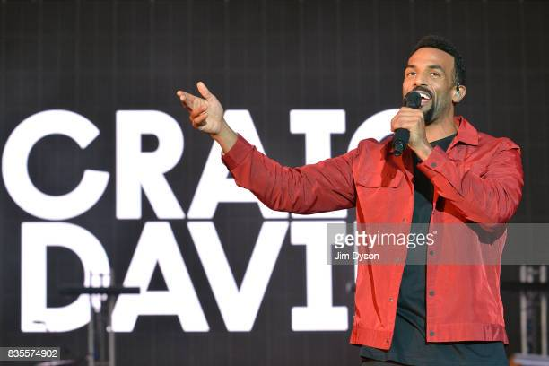 Craig David performs live on stage during V Festival 2017 at Hylands Park on August 19 2017 in Chelmsford England