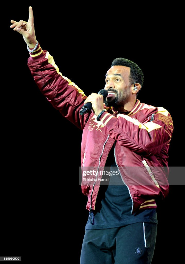 Craig David performs live on stage during V Festival 2017 at Weston Park on August 20, 2017 in Stafford, England.