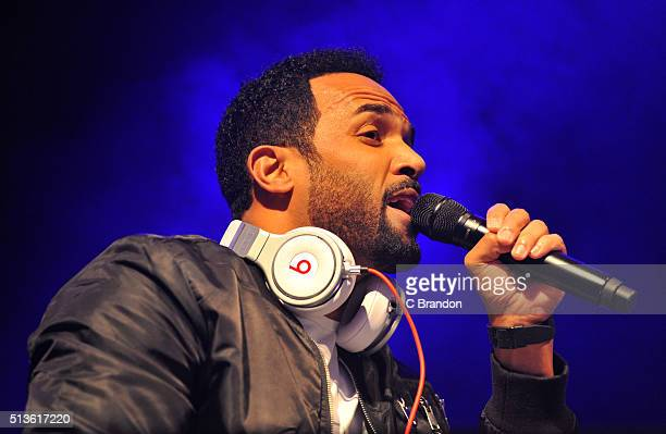 Craig David performs on stage at KOKO on March 3 2016 in London England