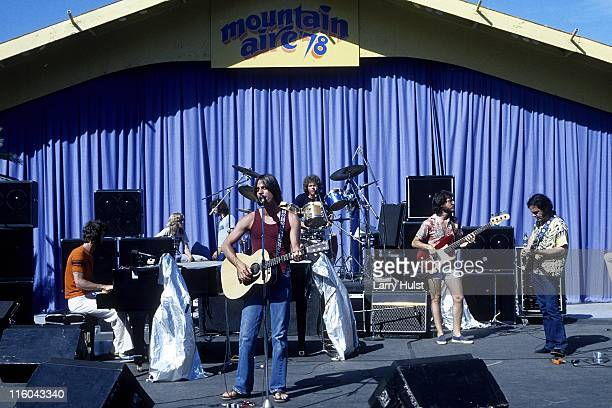 Craig Doerge Jackson Browne Russ Kunkel Bob Bloub and David Lindley performs as 'the Jackson Browne band' perform at Mountain Aire in Angels Camp...