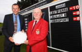 Craig Dun and James Cook of Marriott St Pierre Hotel and Country Club pictured after winning the Lombard Challenge Regional Qualifier at Cumberwell...