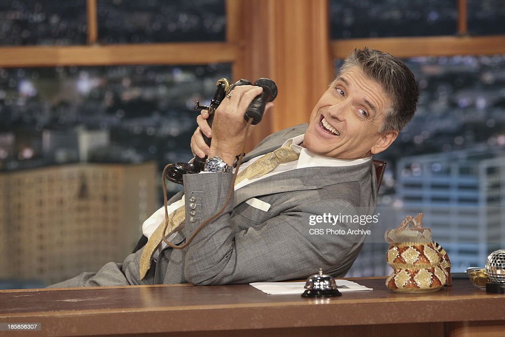<a gi-track='captionPersonalityLinkClicked' href=/galleries/search?phrase=Craig+Ferguson+-+Talk+Show+Host&family=editorial&specificpeople=204509 ng-click='$event.stopPropagation()'>Craig Ferguson</a> on The Late Late Show with <a gi-track='captionPersonalityLinkClicked' href=/galleries/search?phrase=Craig+Ferguson+-+Talk+Show+Host&family=editorial&specificpeople=204509 ng-click='$event.stopPropagation()'>Craig Ferguson</a> on Monday, Oct. 14, 2013 on the CBS Television Network.