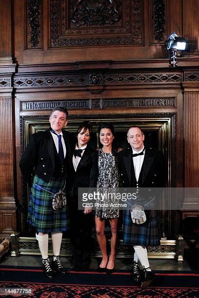 Craig Ferguson Rashida Jones Ariel Tweto and David Sedaris film in Glamis Castle for CBS's THE LATE LATE SHOW with CRAIG FERGUSON in SCOTLAND which...