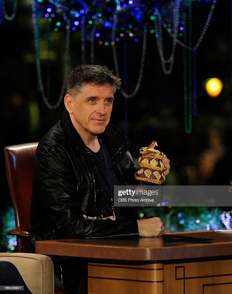 Craig Ferguson rehearses in CBS SUPER BOWL PARK at JACKSON SQUARE for THE CRAIG FERGUSON SUPER BOWL SPECIAL which airs Sunday, Feb. 3 (approximately 11:35 PM - 12:37 AM in most markets, following local news) on the CBS Television Network as part of the Network's SUPER BOWL XLVII lineup.