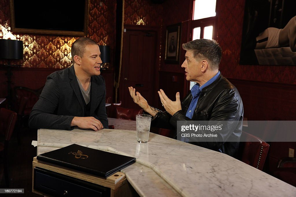 Craig Ferguson visits Channing Tatum at his New Orleans restaurant and bar Saints & Sinners while filming THE CRAIG FERGUSON SUPER BOWL SPECIAL which airs Sunday, Feb. 3 (approximately 11:35 PM - 12:37 AM in most markets, following local news) on the CBS Television Network as part of the Network's SUPER BOWL XLVII lineup.