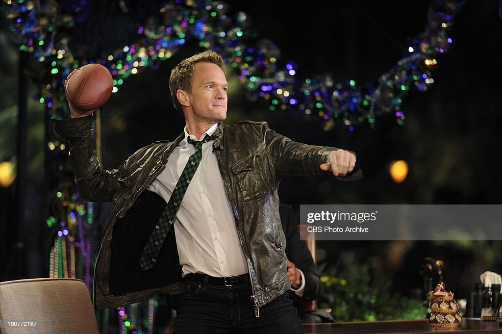 Craig Ferguson welcomes Neil Patrick Harris while filming THE CRAIG FERGUSON SUPER BOWL SPECIAL in New Orleans which airs Sunday, Feb. 3 (approximately 11:35 PM - 12:37 AM in most markets, following local news) on the CBS Television Network as part of the Network's SUPER BOWL XLVII lineup.