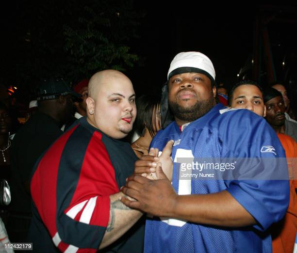 DJ Craig G and Crazy Sam during Jadakiss' 'Kiss Of Death' Album Release Party at Deep in New York City New York United States