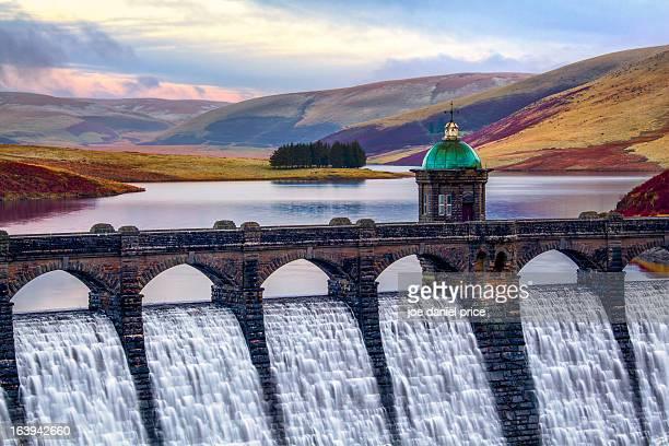 Craig Goch Dam, Rhayader, Elan Valley, Wales