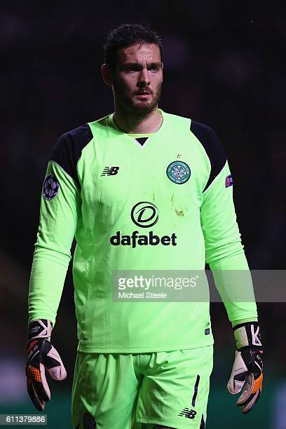 Craig Gordon of Celtic during the UEFA Champions League match between Celtic and Manchester City at Celtic Park on September 28 2016 in Glasgow...