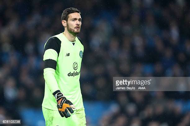 Craig Gordon of Celtic looks on during the UEFA Champions League match between Manchester City FC and Celtic FC at Etihad Stadium on December 6 2016...