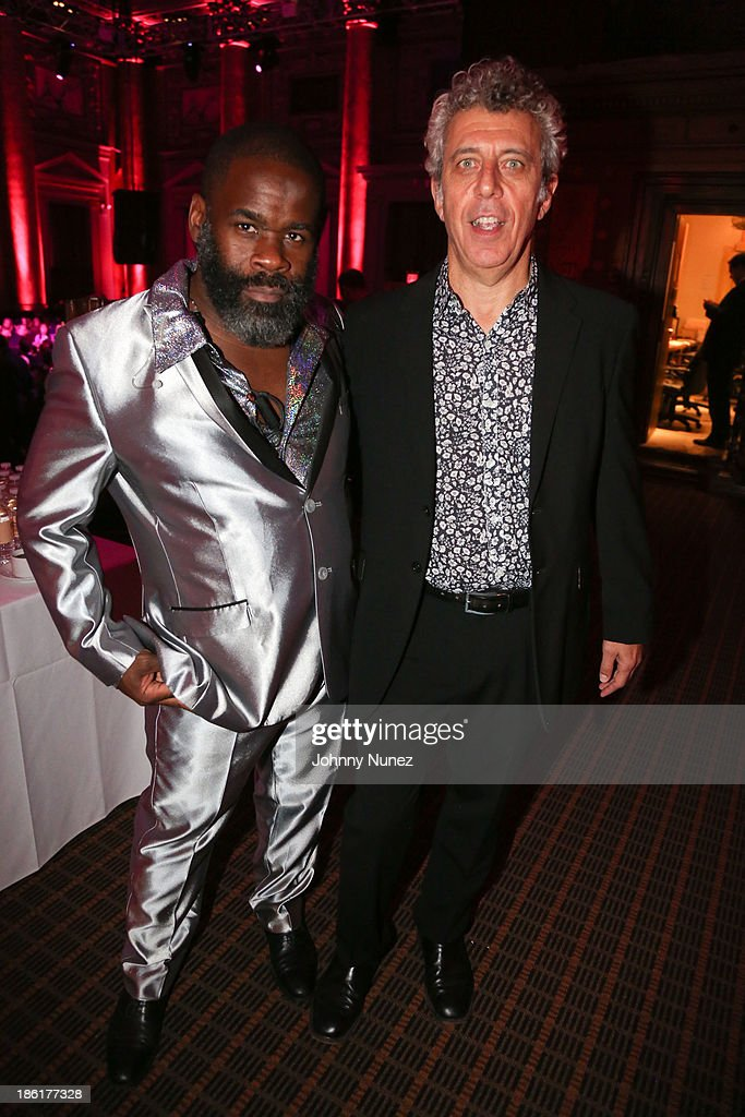 Craig Grant and Eric Bogosian attend the LAByrinth Theater Company Celebrity Charades 2013 benefit gala at Capitale on October 28, 2013 in New York City.