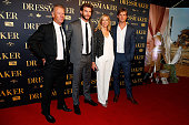 Craig Hemsworth Liam Hemsworth Leonie Hemsworth and Chris Hemsworth arrive ahead of the Australian premiere of 'The Dressmaker' on October 18 2015 in...