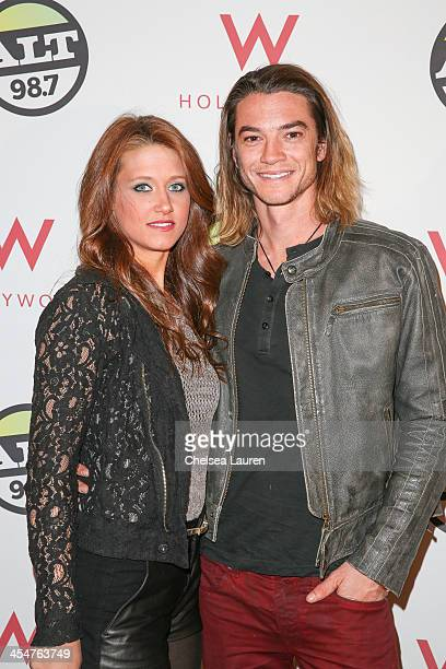 Craig Horner arrives at the ALTimate Rooftop Christmas Party W/ Hollywood on December 9 2013 in Hollywood California