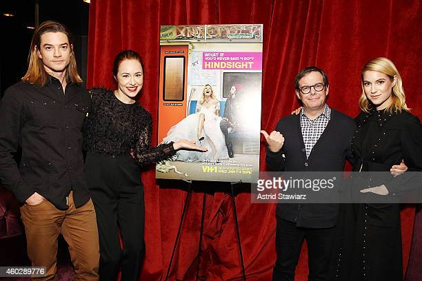 Craig Horner Sarah Goldberg Tom Calderone President of VH1 and Laura Ramsey attend Entertainment Weekly And VH1 Host A Special Screening Of VH1's New...