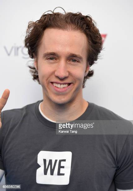 Craig Kielburger attends WE Day UK at The SSE Arena on March 22 2017 in London United Kingdom