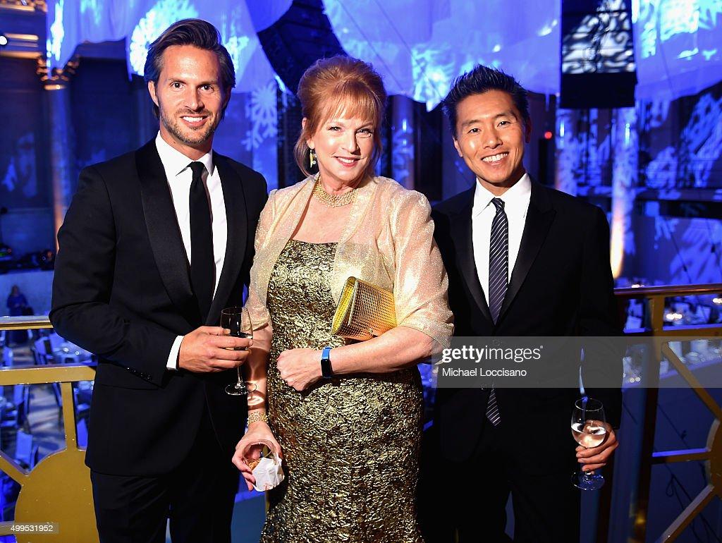 Craig Koch Snowflake Patron Christine Stonbely and UNICEF Ambassador Design Decor Vern Yip attend the 11th Annual UNICEF Snowflake Ball Honoring...