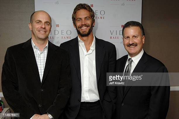 Craig Kornblau President of Universal Studios Home Entertainment was joined by Paul Walker and fellow inductee Producer Neal H Moritz on Monday...