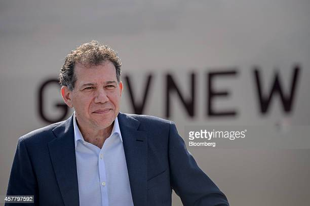 Craig Kreeger chief executive officer of Virgin Atlantic Airways Ltd looks on during a news conference at HartsfieldJackson Atlanta International...
