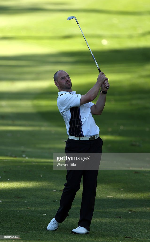 Craig Lee of Scotland in action during the first round of the Trophee du Hassan II Golf at Golf du Palais Royal on March 28, 2013 in Agadir, Morocco.