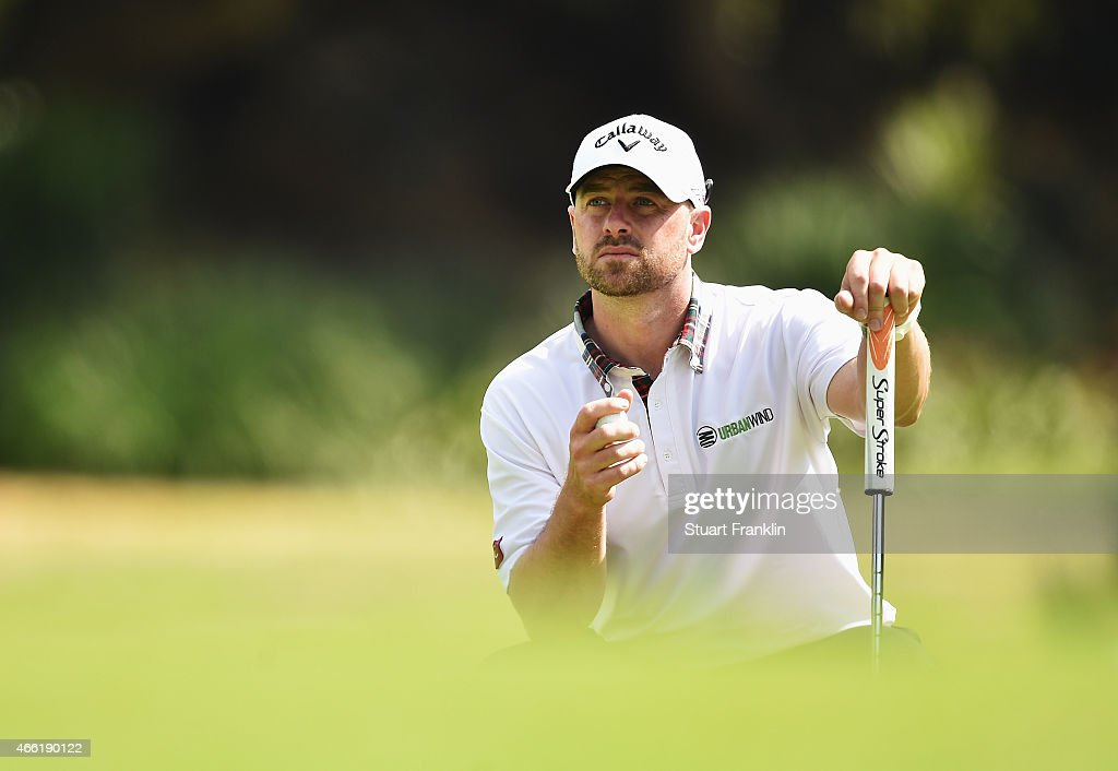 <a gi-track='captionPersonalityLinkClicked' href=/galleries/search?phrase=Craig+Lee&family=editorial&specificpeople=2959657 ng-click='$event.stopPropagation()'>Craig Lee</a> of Scotland lines up a putt during the third round of the Tshwane Open at Pretoria Country Club on March 14, 2015 in Pretoria, South Africa.