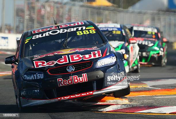 Craig Lowndes drives the Red Bull Racing Australia Holden during race 31 of the Gold Coast 600 which is round 12 of the V8 Supercars Championship...